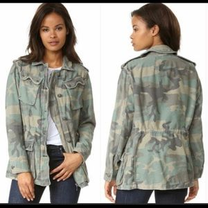 Free People not your brothers camo surplus jacket